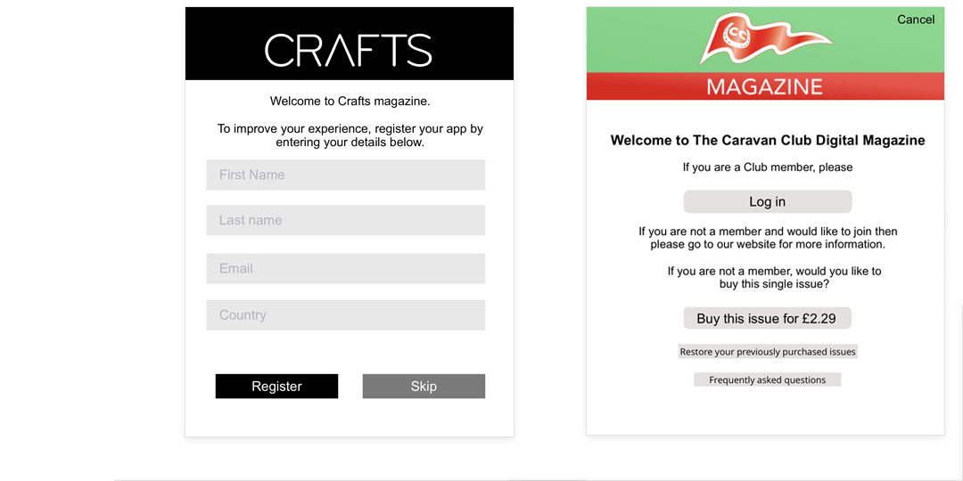 A PageSuite B2C Magazines Example