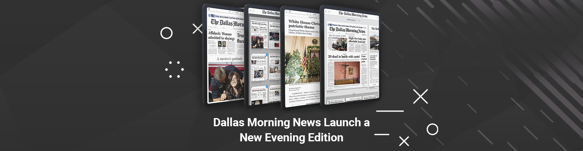 Press Release: The Dallas Morning News Launches Evening Edition with PageSuite