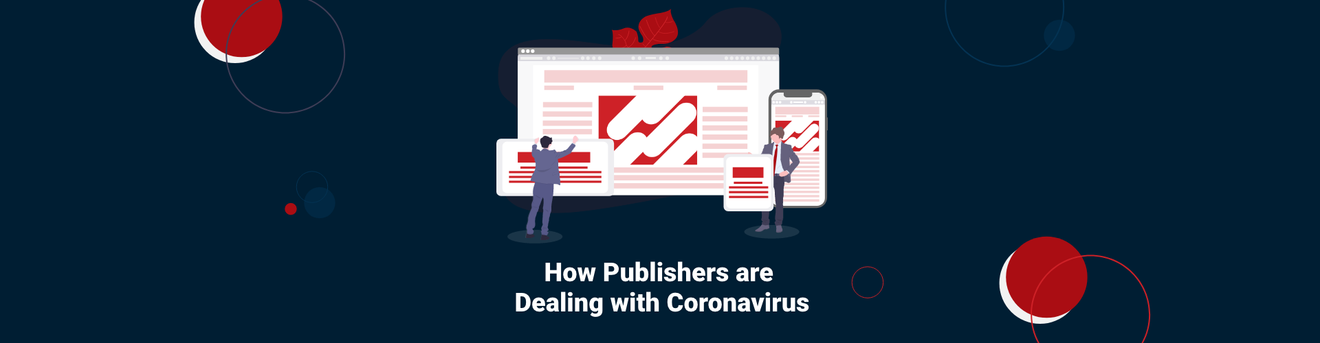 How Publishers are Dealing with Coronavirus