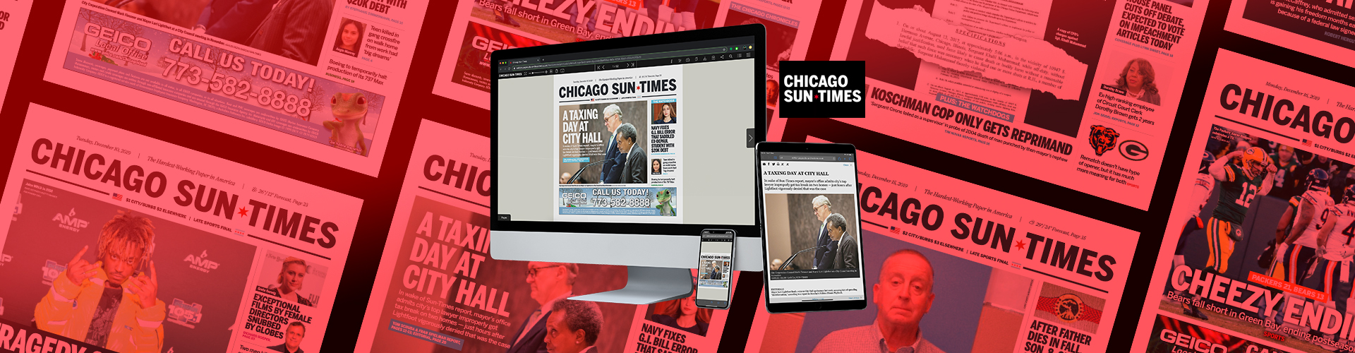 Press Release: Chicago Sun-Times Launches New Replica Solution with PageSuite
