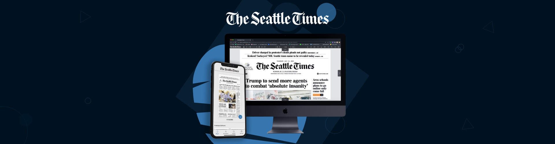 The Seattle Times Launch on PageSuite's Edition Platform