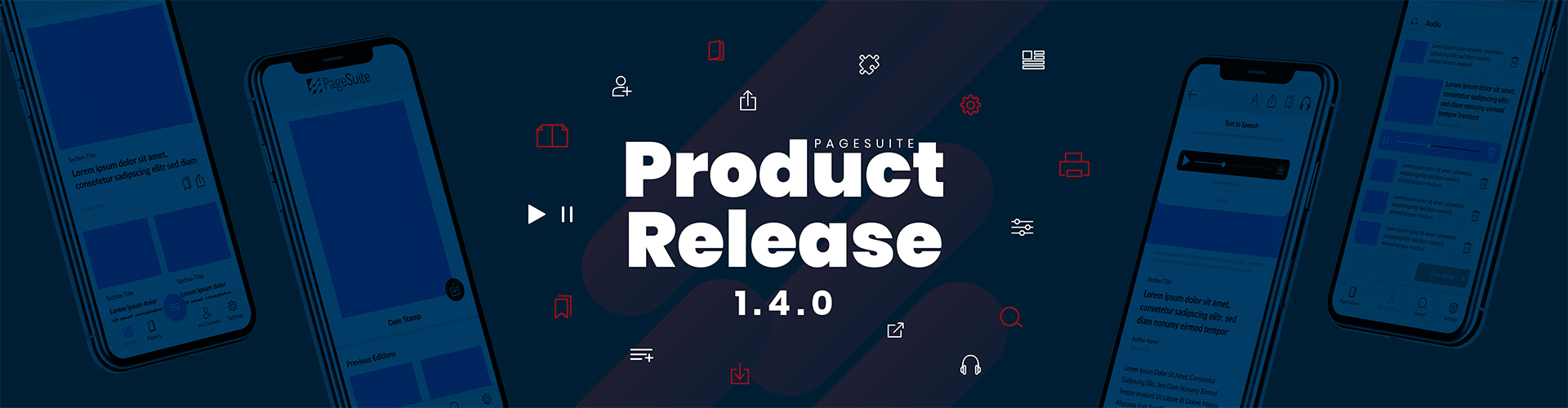 Header image of Product Release Notes – 1.4.0