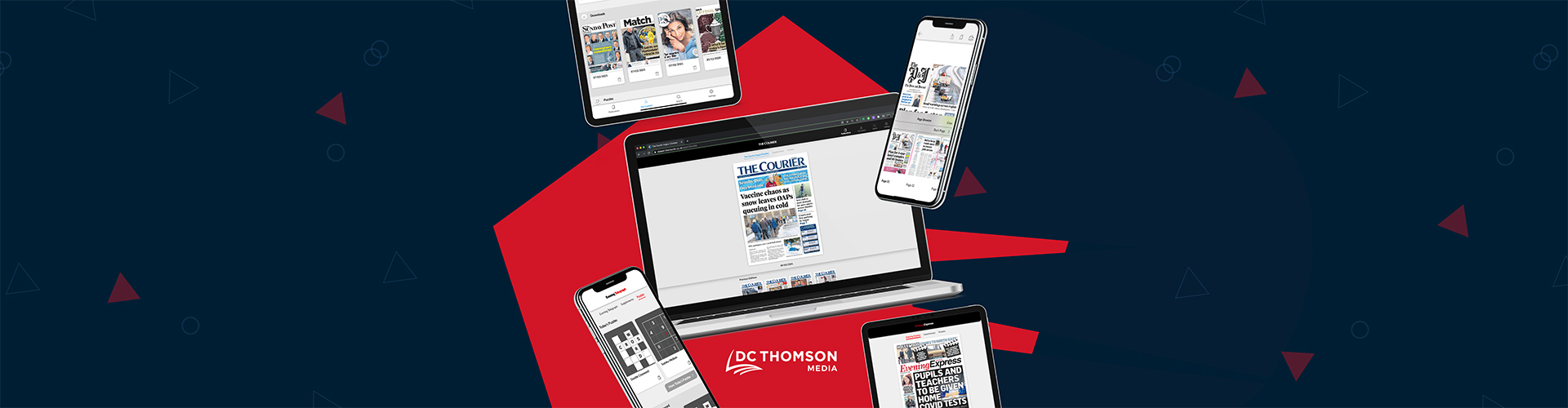 Header image of Press Release: DC Thomson Media Upgrade to PageSuite's Latest Edition Platform
