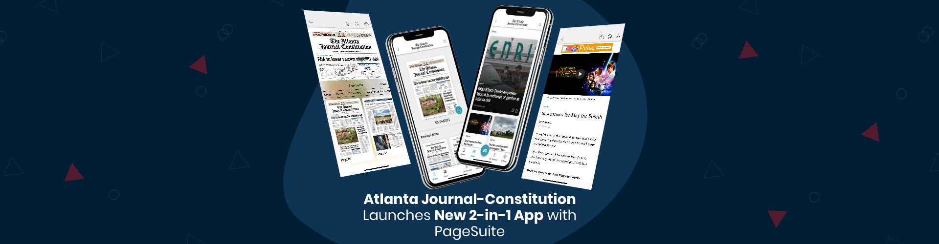 Press Release: Atlanta Journal-Constitution Launches New 2-in-1 App with PageSuite