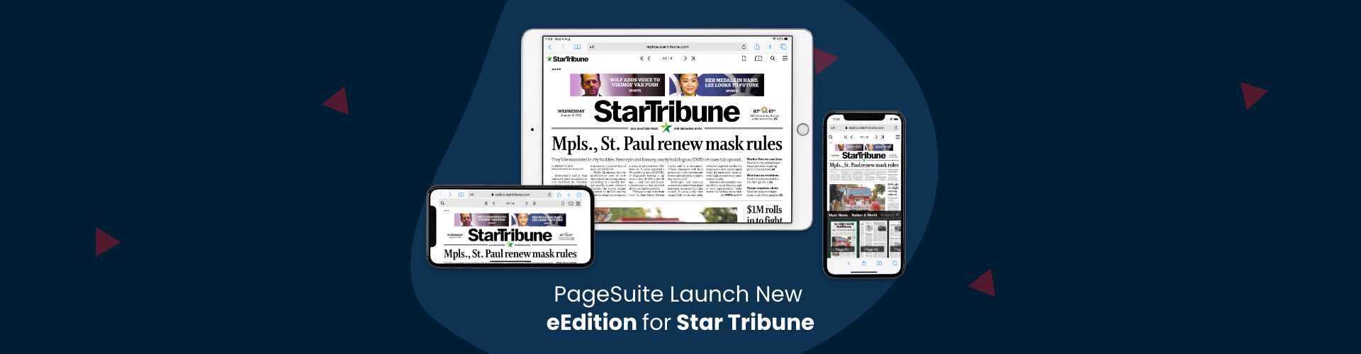 Header image of PageSuite Launch New eEdition for Star Tribune